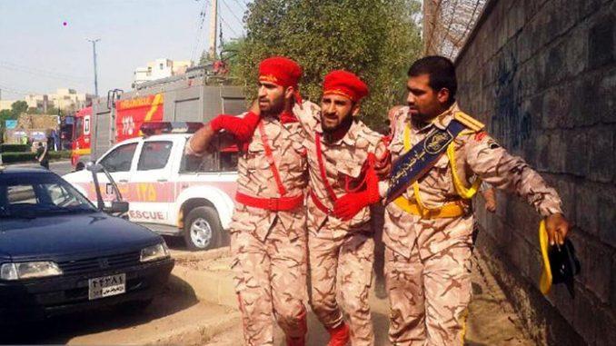 iran parade attack