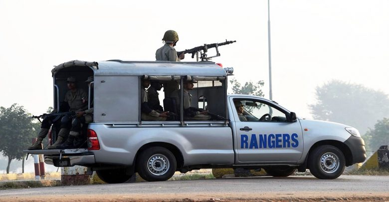 rangers deployment in punjab . news at girdopesh.com