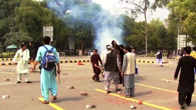 shelling in punjab university