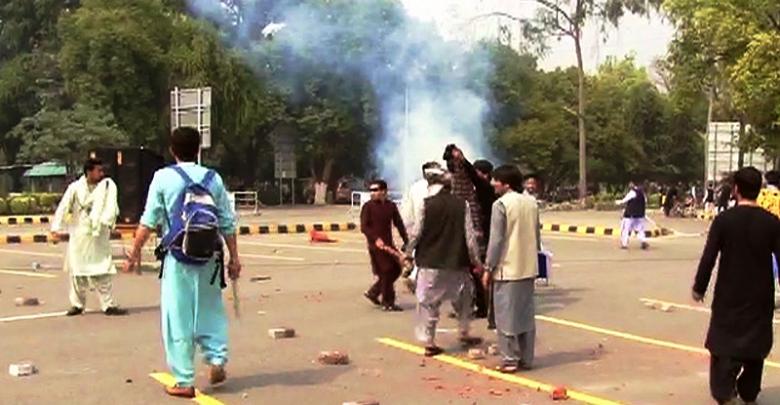 shelling in punjab university
