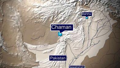Chaman map