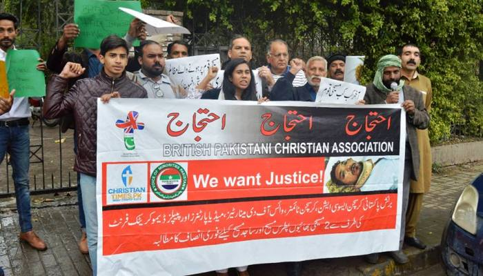 minorities protest