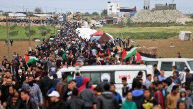 palestine march