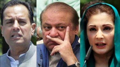 nawaz mariam and safdar