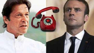 imran and french president