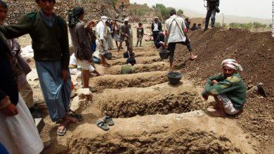 yemen graves