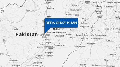 dera ghazi khan map