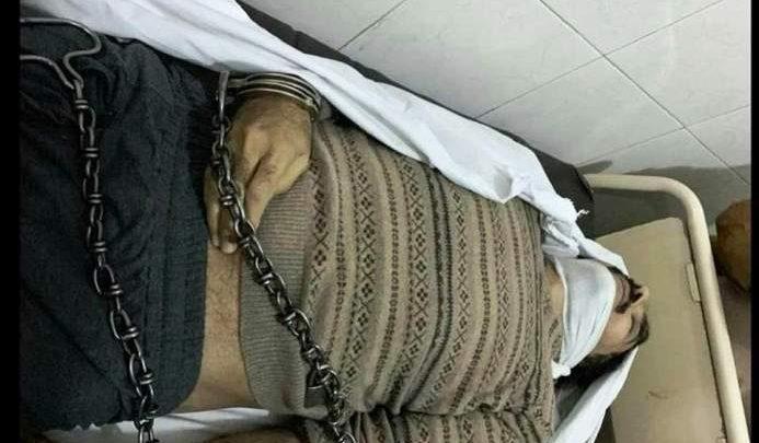 professor in chains