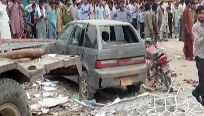 sadiq abad blast