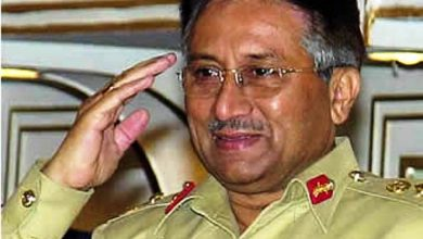 musharraf in uniform