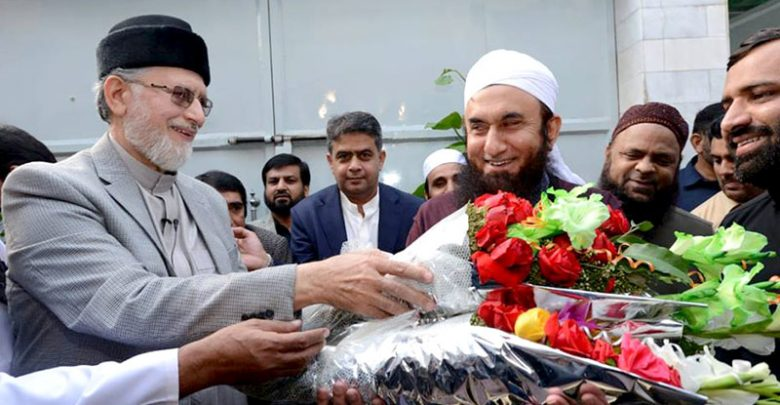 Molana-Tariq-Jameel and Tahir-ul-Qadri