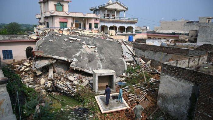 earthquake mirpur