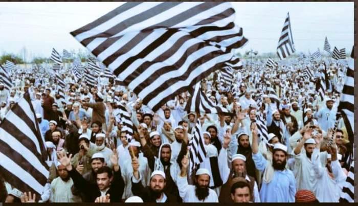 J U I flag march