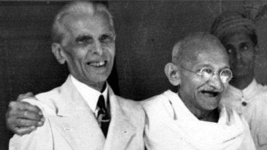 gandhi and jinah