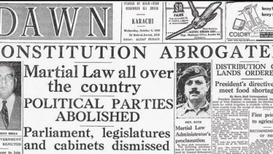 martial law ayub