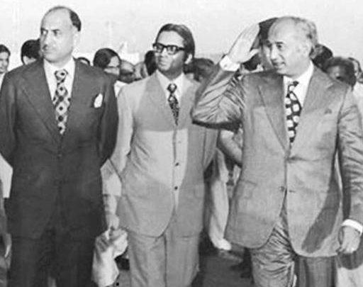 bhutto and sadiq qurraishi