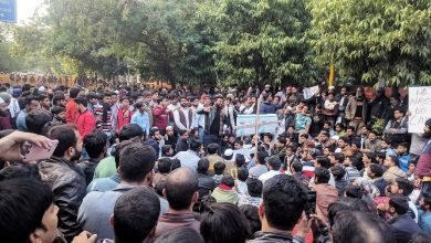 india students protesting against CAA NRC