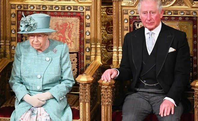 charles and queen