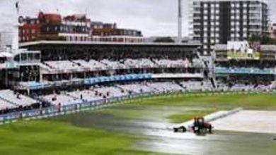 cricket rain