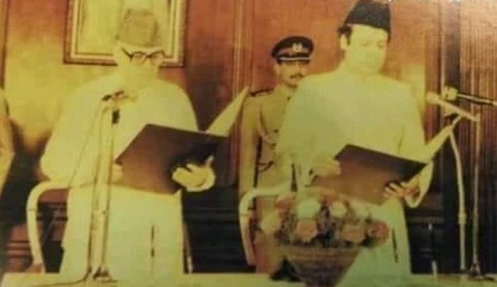 nawaz shareef and governor jilani
