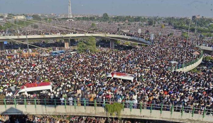 khadim rizwi funeral