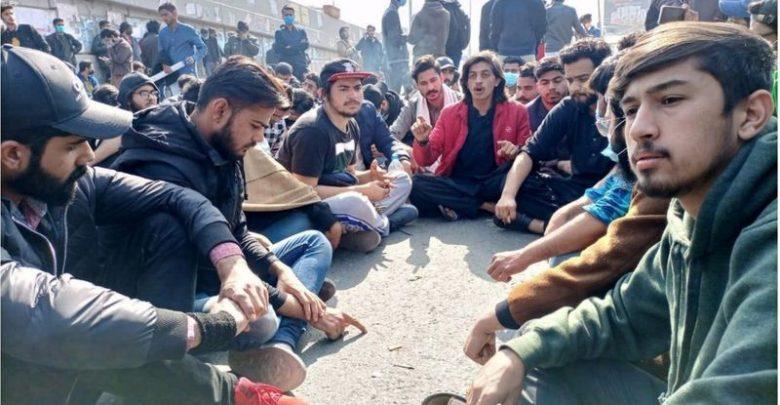 lahore students strike