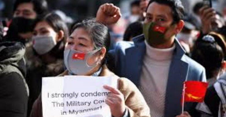 mianmar martial law